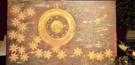 Time is in Gods hands - Code A2- 021