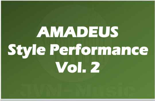 AMADEUS Style Performance Vol. 2