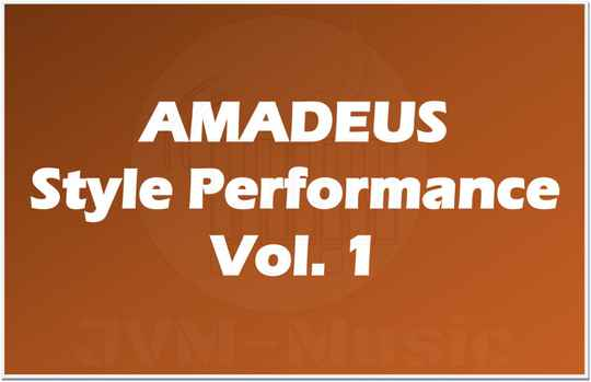 AMADEUS Style Performance Vol. 1