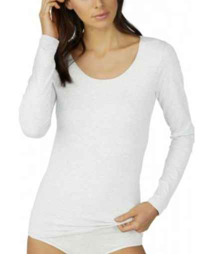 Mey Cotton Pure Longsleeve - 26502 - Wit