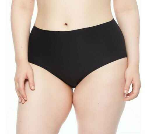 Soft Stretch PLUS SIZE High Waist Tailleslip - 1137 - zwart