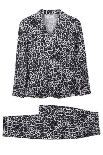 Pyjama van Pretty You London - Leopard