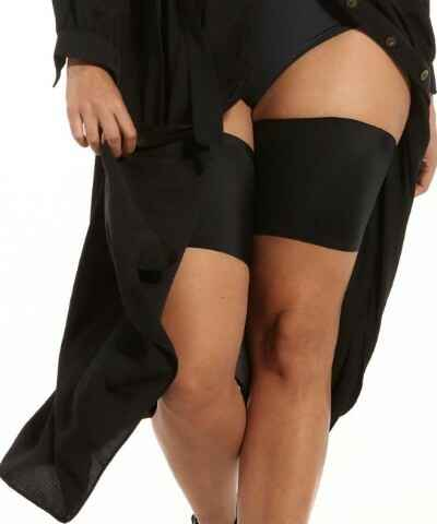Dijenbanden BE SWEET TO YOUR LEGS van MAGIC Bodyfashion - 75BS - zwart
