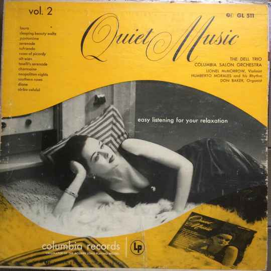 Quiet Music, Vol 2: Easy Listening For Your Relaxation  [idnr:13357]
