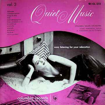 Quiet Music, Vol 3: Easy Listening For Your Relaxation  [idnr:13356]