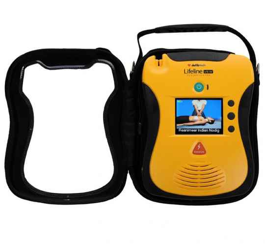 Hardcase Defibtech LifeLine View AED