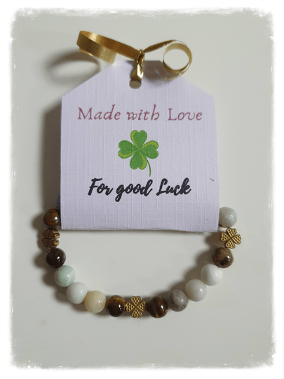 """Made with Love 'FOR GOOD LUCK"""""""