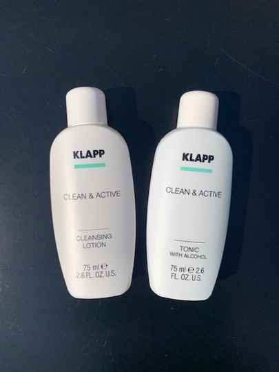 Clean & Active MINI - Cleasing Lotion + Tonic