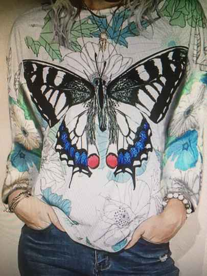 SWEATER BUTTERFLY