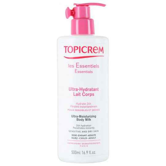 Topicrem Ultra Moisturizing Body Milk (500ml)