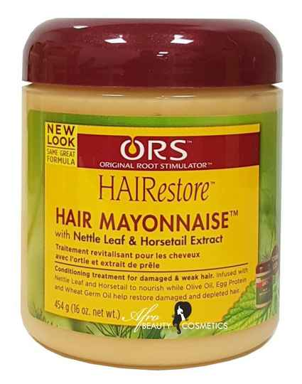 ORS Hair Mayonnaise With Nettle Leafe & Horsetail Extract (454g)