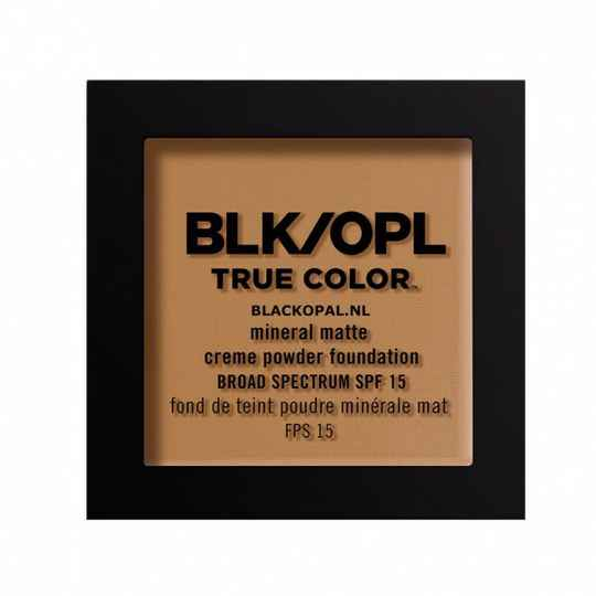 Black Opal True Color Mineral Matte Crème Powder Foundation Truly Topaz (340)