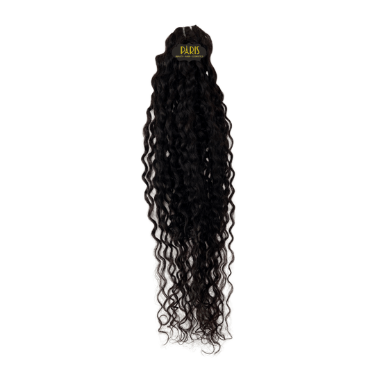 100% Brazilian Virgin Remy Hair Curly Weave Natural Black (100g)