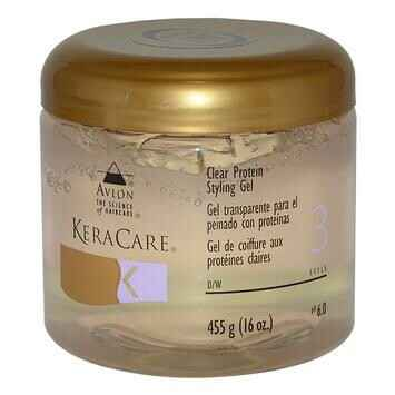 KeraCare Clear Protein Styling Gel (455g)