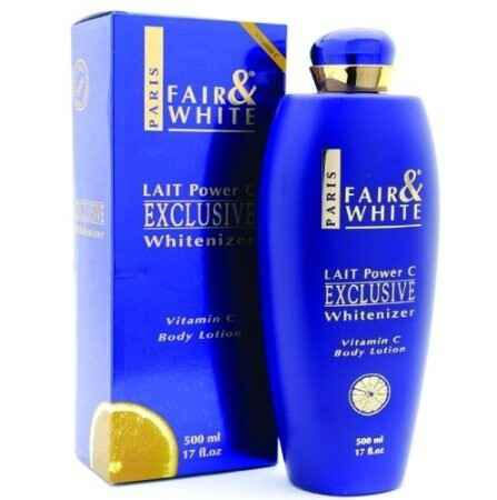Fair & White Paris Lait Power C Exclusive Whitenizer Body Lotion With Pure Vitamin C (500ml)