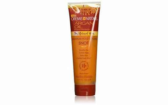 CREME OF NATURE ARGAN OIL FLEXIBLE STYLING SNOT