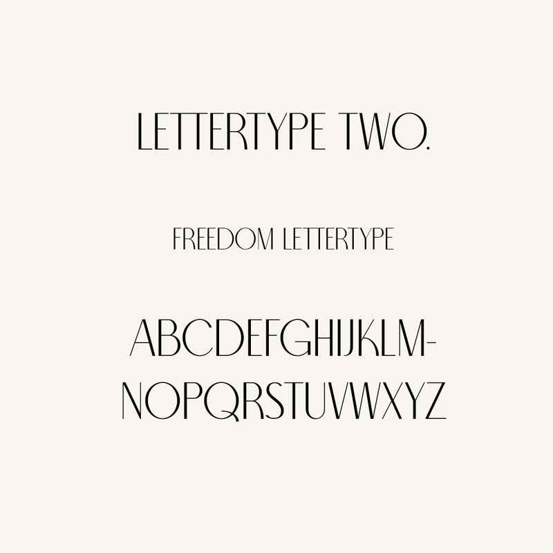 LETTERTYPE TWO