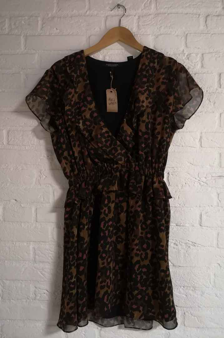 Maison scotch panterprint jumpsuit