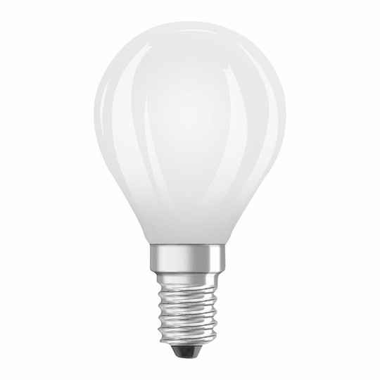 Osram Led kogel Filament E14 4,5w (vervangt 40 watt) mat 2700k 470L