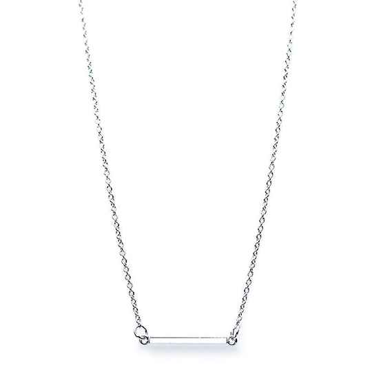 KARMA Necklace Tube Square - 925 zilver