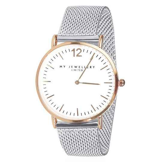 Bicolor Watch Limited - Silver/Rose
