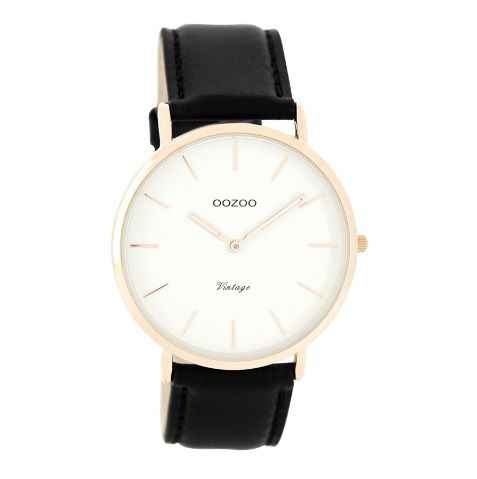 OOZOO Vintage- Rose/ZwartC7761 (40 mm)
