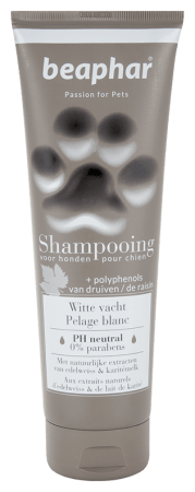 Shampooing tube Witte vacht