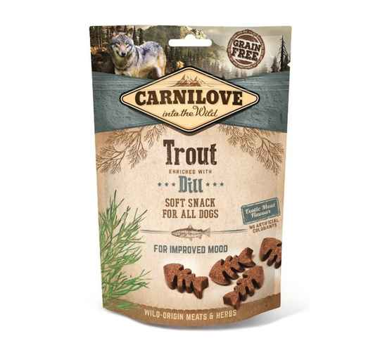 Carnilove Soft Snack Trout & Dill 200gr