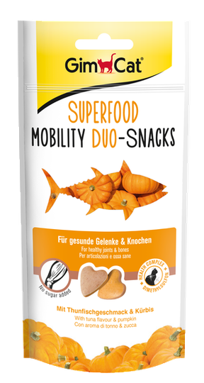 GimCat Superfood Mobility Duo-Snacks - 40gr.