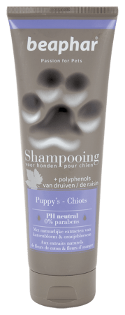 Shampooing tube Puppy's