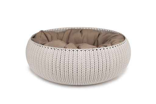 Curver Cozy Pet Bed Creme (700508)