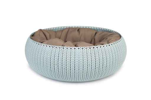 Curver Cozy Pet Bed Lichtblauw