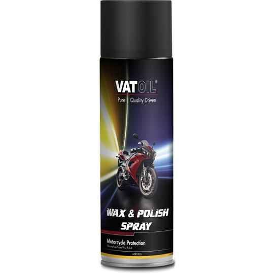 VatOil poetsspray Motorcycle Wax & Polish 500 ml