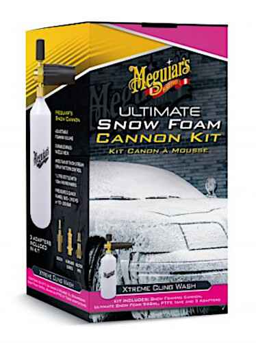 Meguiar's Ultimate Snow Foam Cannon Kit 7-delig