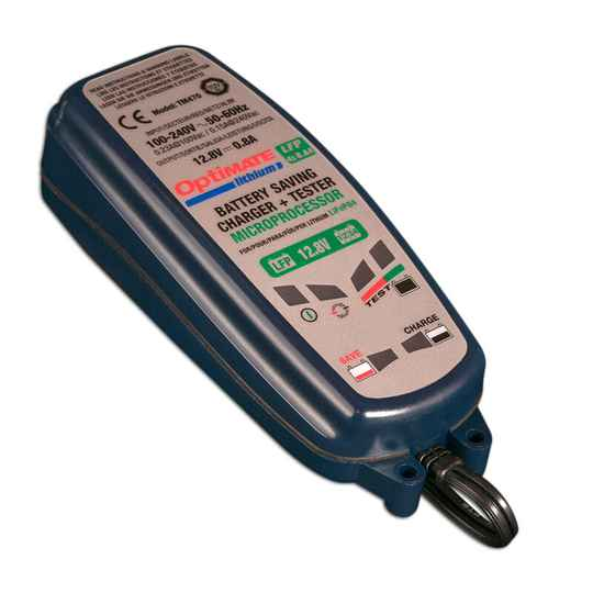Optimate Lithium 4S 12,8/13,2V 8-staps 0.8 Amp Acculader / tester / onderhouder
