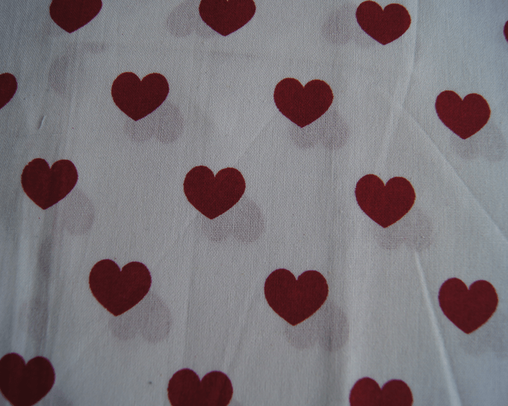 Hearts  - Wit rood -