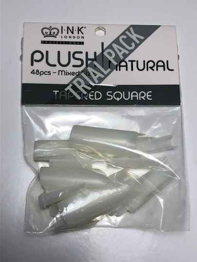 Plush Tips - Tapered Square Natural - TRIAL