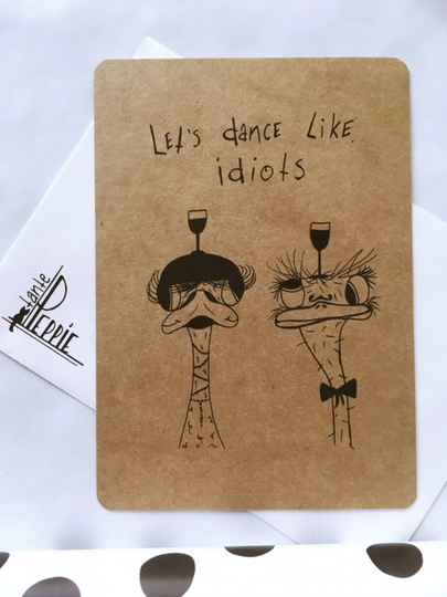 Let's dance like idiots
