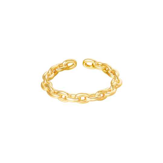 Ring connected - Goud