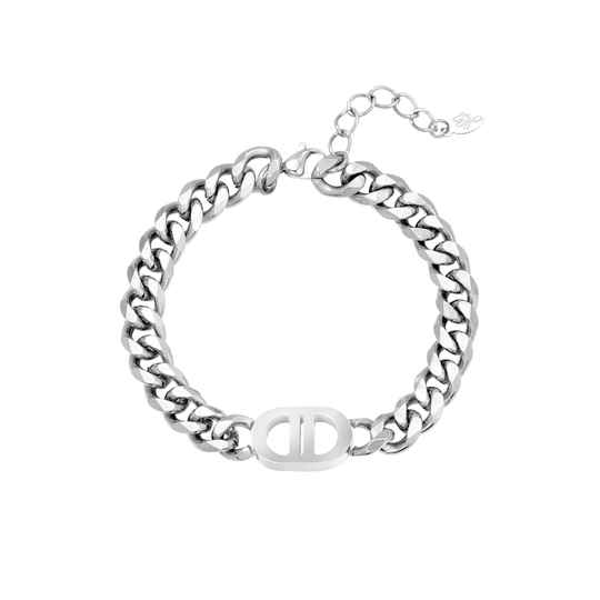 Armband the good life - zilver