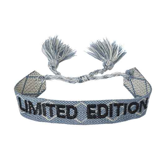 Limited edition armband - blauw