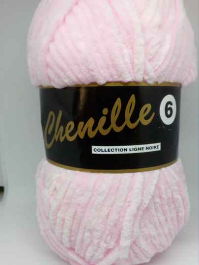 Chenille Baby Roze 710