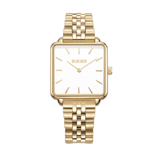 Burker Watch | Chloe Gold White Limited Edition