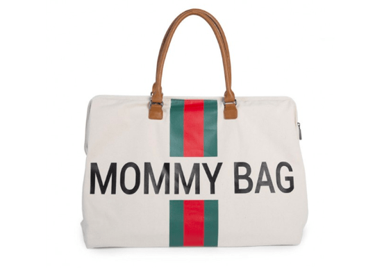 Mommy Bag   White - Green - Red   Childhome