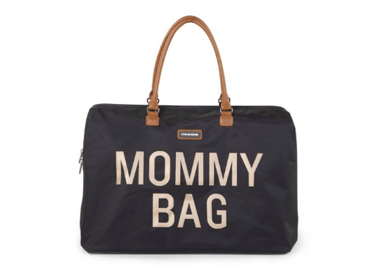 Mommy Bag   Black & Gold luiertas   Childhome
