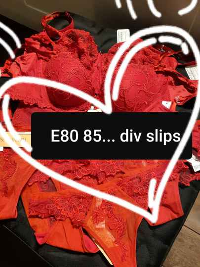 Diverse slips rood