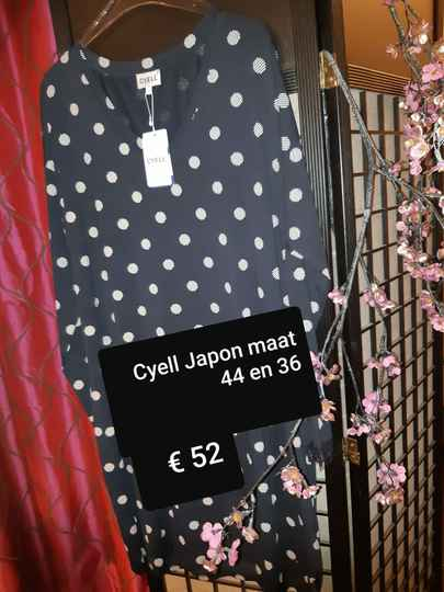 Cyell  Japon  gestippeld