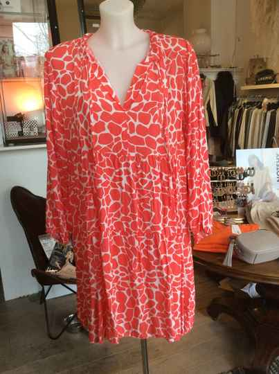 Dress Red Giraffe