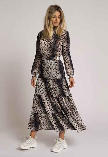 Fifth House Dress Cheetahprint