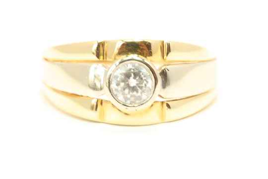 Gouden Ring (Bi-Color Nmr-02)